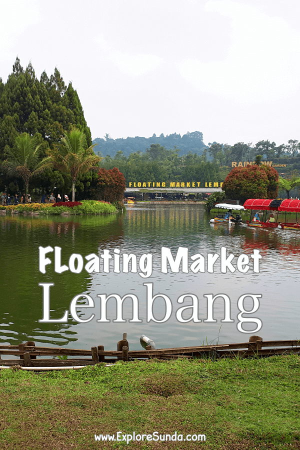 Things to do in Bandung: explore Floating Market Lembang | Stroll along the beautiful garden | Feed some animals | Shopping | Have lunch at the Floating Foodcourt | #ExploreSunda