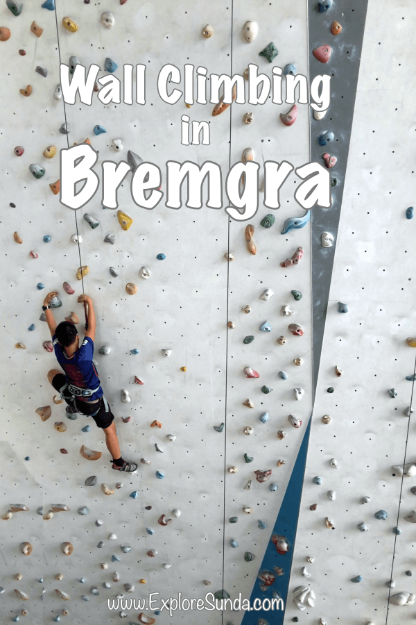 Have fun and get fit by #ClimbingWall at Bremgra, #TangerangSelatan | #TangSel | #ExploreSunda