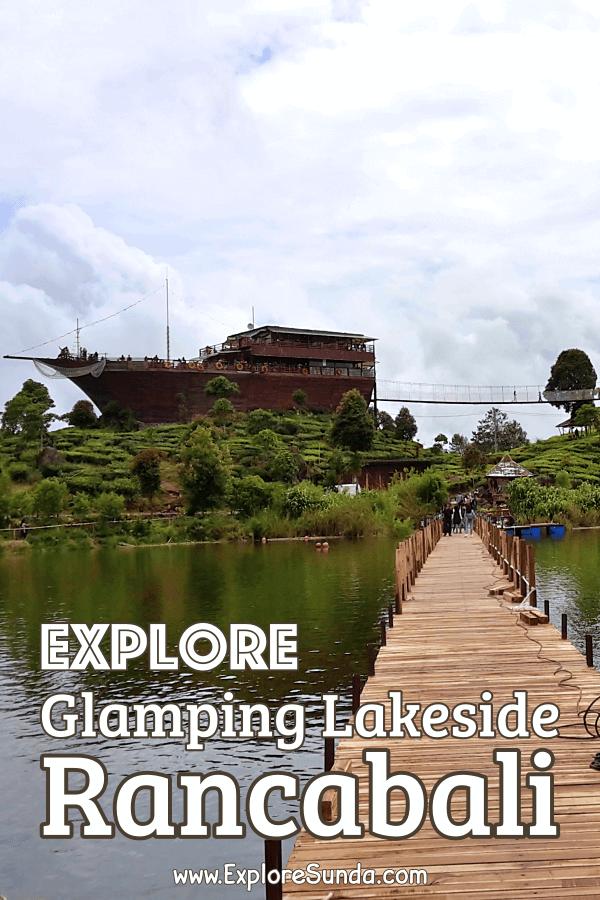 #GlampingLakesideRancabali at #Ciwidey #Bandung is the best place to enjoy the tranquility of #SituPatenggangBandung a.k.a. #SituPatengan |#ExploreSunda.com