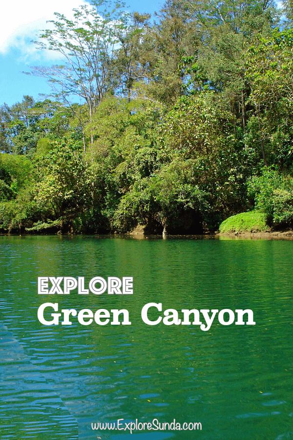 Green Canyon near Pangandaran Beach