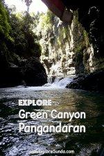 Visit #GreenCanyon near #Pangandaran | #ExploreSunda