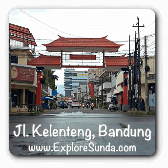 Jalan Kelenteng, the new Chinatown in Bandung.