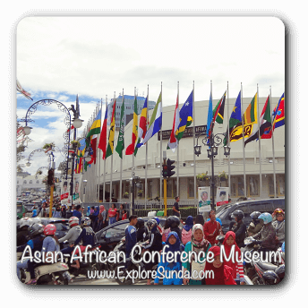 Learn the history at Asia Africa Conference Museum, Bandung