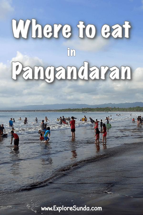 List of eateries in #Pangandaran | #ExploreSunda