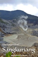 The Legend of #Sangkuriang is closely related to mount #TangkubanPerahu | Read the full story here.. | #ExploreSunda.com
