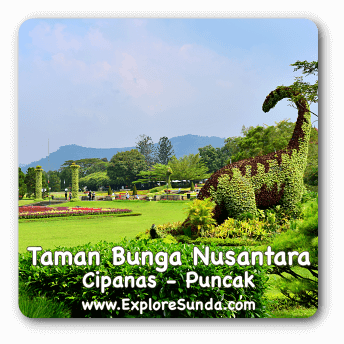 Taman Bunga Nusantara in Cipanas, Puncak Pass.