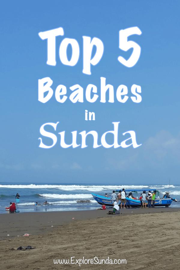 Top Five Beaches in Sunda.