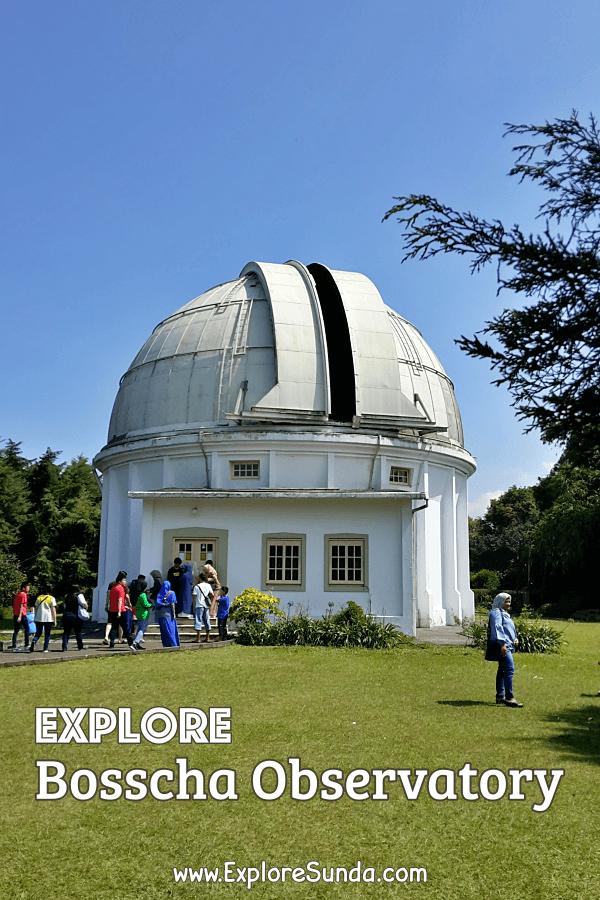 Guided tour, the best way to explore #Bosscha Observatory in #Lembang #Bandung | #ExploreSunda.com