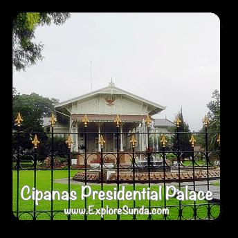 Cipanas Presidential Palace near Puncak Pass.