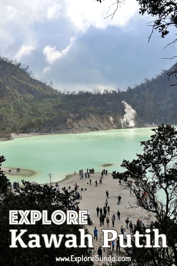 #KawahPutih , a gorgeous volcanic lake in #Ciwidey , #Bandung | Learn how to go there and what to expect | #ExploreSunda