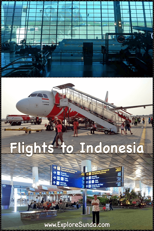 To #TravelIndonesia first check the #FlightsToIndonesia | #CheapFlightsToIndonesia | #ExploreSunda.com