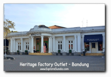 The Heritage - One of The Popular Factory Outlets in Bandung