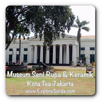 Museum Seni Rupa dan Keramik Indonesia - Fine Art and Ceramic Museum at Kota Tua Jakarta