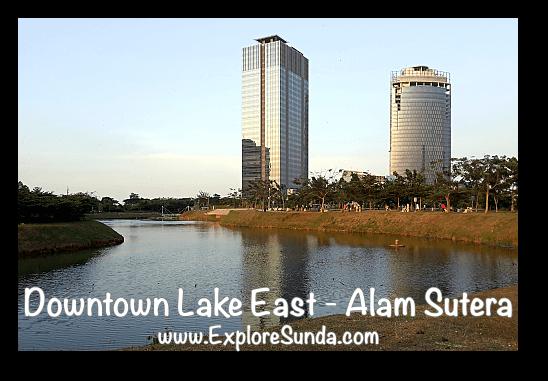 Sunset at Downtown Lake East - Alam Sutera, Tangerang Selatan