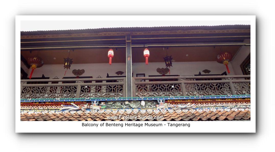 Balcony of Benteng Heritage Museum - Tangerang