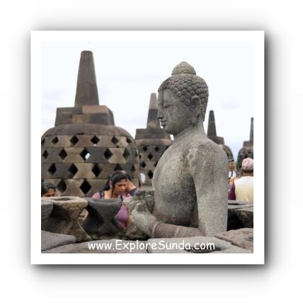Stupa of Borobudur Temple