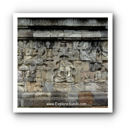Relief Sculpture at Candi Borobudur
