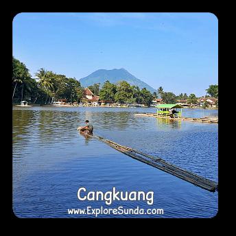 Cangkuang temple and lake - Garut.