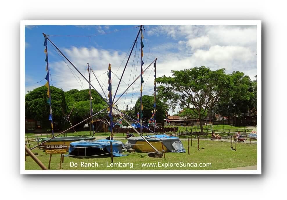 Games at De Ranch Lembang