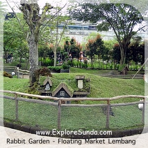 Rabbit Garden at Floating Market Lembang
