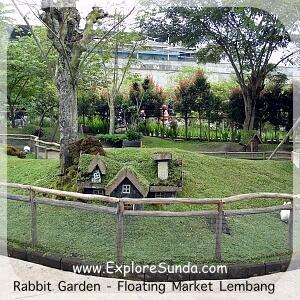 Rabbit Garden at Floating Market Lembang