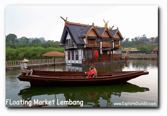 Parks and Gardens: Kyotoku at Floating Market Lembang Bandung.