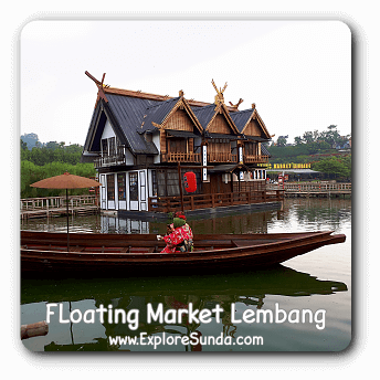 New attractions in Floating Market Lembang: Rainbow Garden, Kota Mini, Kyotoku, and Swimming Pool.