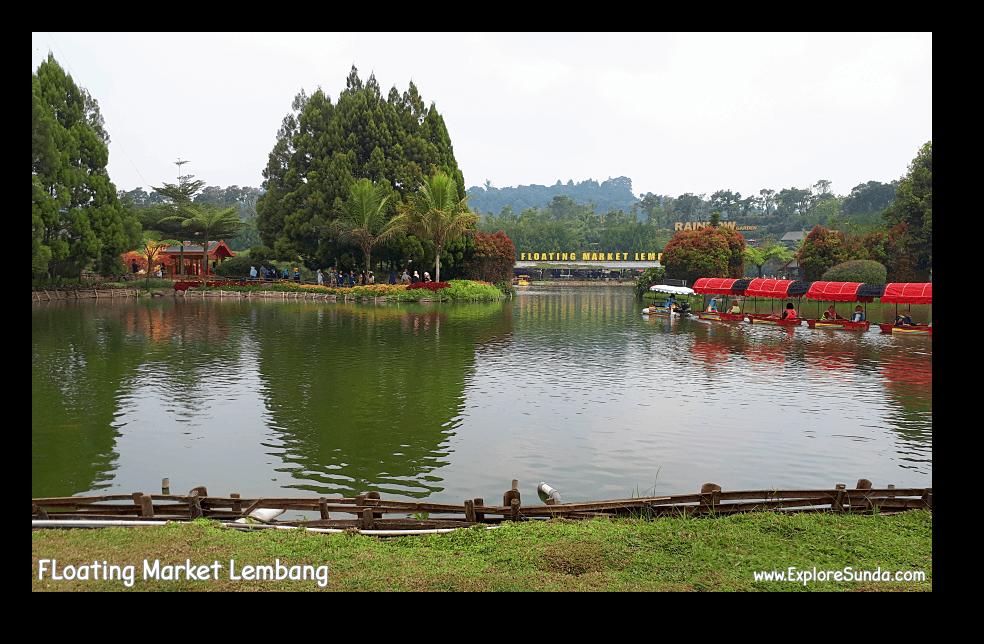 Floating Market Lembang.
