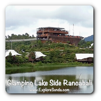 Glamping Lakeside Rancabali at SItu Patenggang.