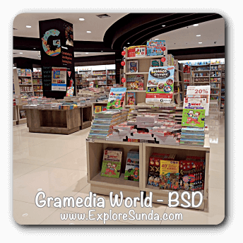 Gramedia World, BSD City