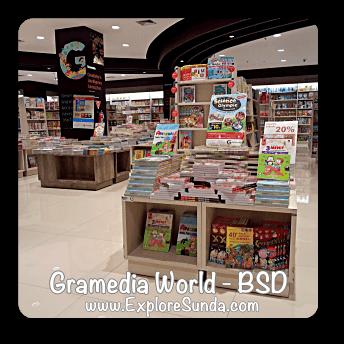 Gramedia World in BSD City, Tangerang Selatan