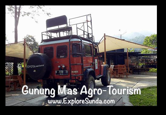 4x4 off road at Gunung Mas Tea Agro-Tourism, Puncak