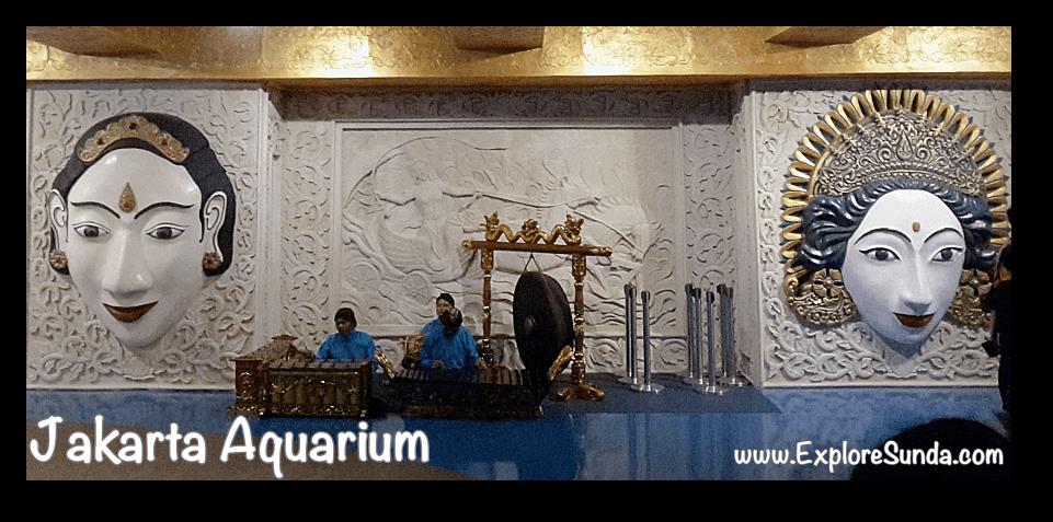 Gamelan at Jakarta Aquarium
