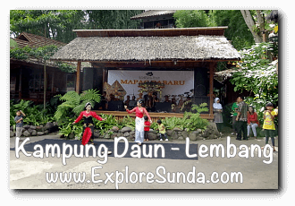 Open Air Stage at Kampung Daun Culture Gallery Cafe - Cihideung, Lembang