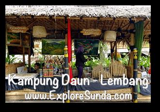 Sundanese Souvenirs at Kampung Daun Culture Gallery Cafe - Cihideung, Lembang