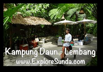 Kampung Daun Culture Gallery Cafe - Cihideung, Lembang