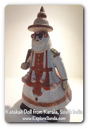 Katakali Doll from Kerala, South India - Museum Wayang