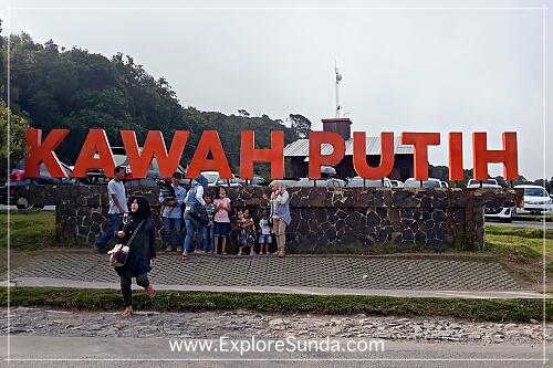 Kawah Putih in Ciwidey, Bandung