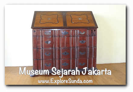 Antique furnitures at Jakarta History Museum