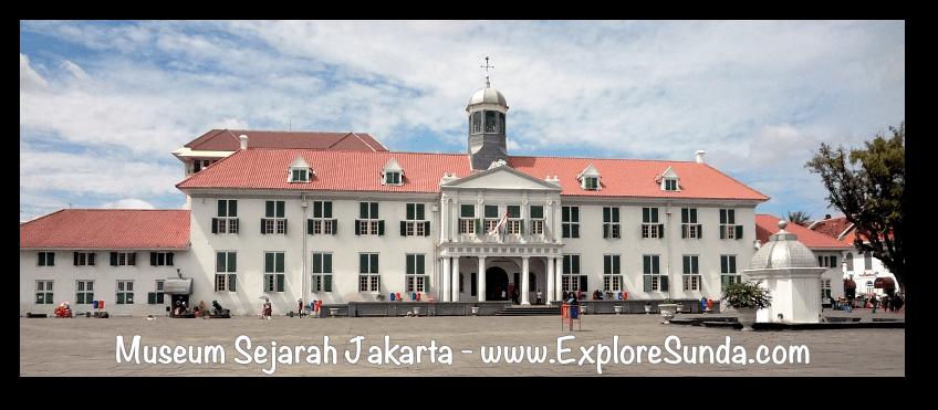 Jakarta History Museum (Museum Sejarah Jakarta) at Kota Tua Jakarta (Jakarta Old Town)