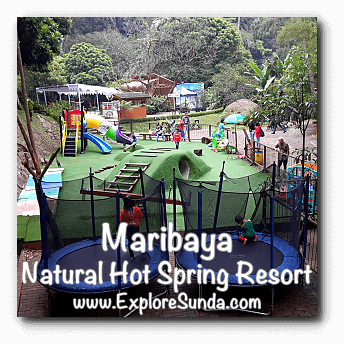 Parks and Gardens: Maribaya Hot Spring Resort, Lembang Bandung.