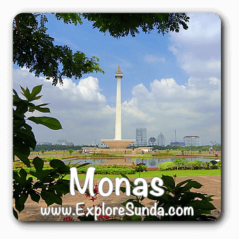 Monas, the National Monument of Indonesia