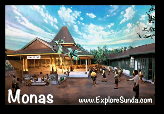 Diorama of Taman Siswa (July 3, 1922)  in Monas, Jakarta