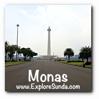 Monas - The National Monument of Indonesia
