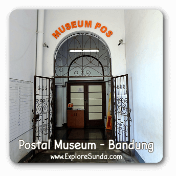 Postal Museum and other museums in Bandung.
