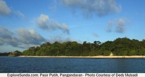 Pasir Putih beach, Pangandaran - West Java