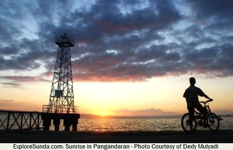 Sunrise at Pangandaran Beach - West Java