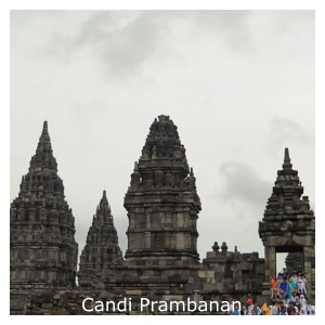 The legend of Roro Jonggrang at Prambanan temple, Central Java