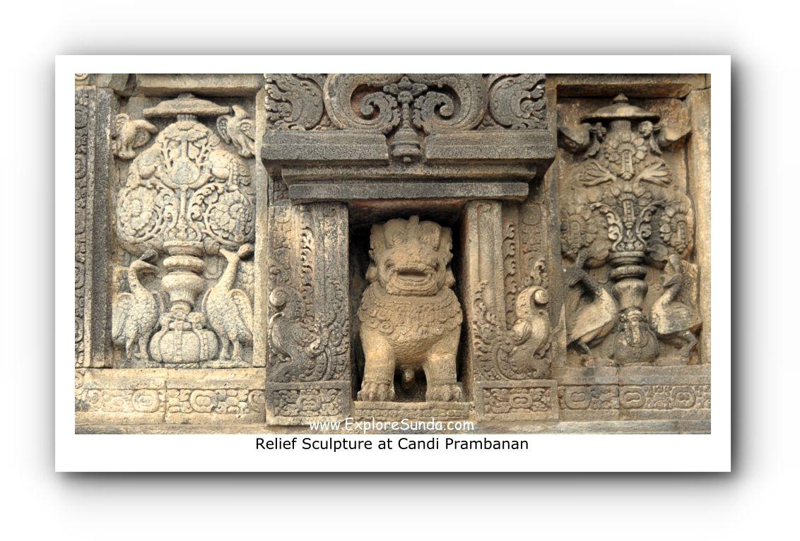 Relief Sculpture at Candi Prambanan
