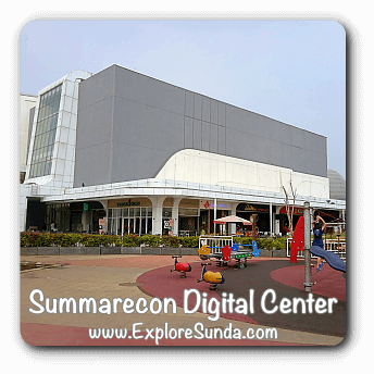Summarecon Digital Center (SDC) in the heart of Summarecon Serpong